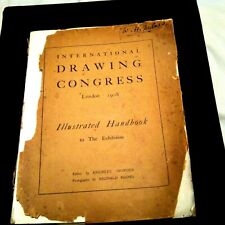 More details for drawing congress, london 1908. illustrated handbook to the exhibition.
