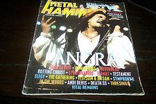 METAL HAMMER MAGAZINE 7/1997 ANGRA IRON SAVIOR MOTORHEAD THE GATHERING