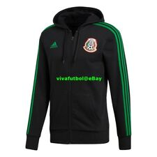 NEW Adidas Mens Seleccion Mexicana Futbol 2018 Mexico Soccer Full-Zip Hoodie M