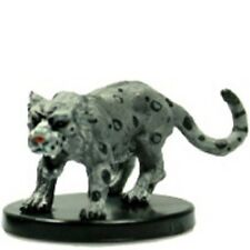 Pathfinder Battles miniatures 1x x1 Snow Leopard Legends of Golarion NM