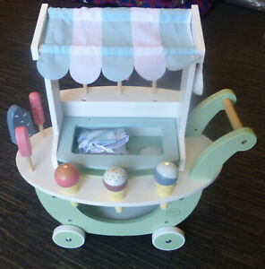MY FIRST YEARS SOLID WOODEN ICE CREAM PARLOUR GOOD QUALITY NEW