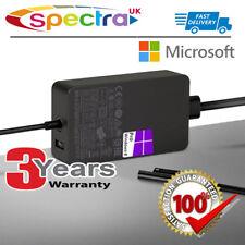 Genuino Original 36 W Microsoft Surface Pro 4 AC Adaptador Cargador Cable De Alimentación Para