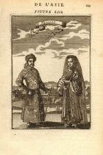 INDIA COSTUME. Man & woman at time of the Moghul Empire. 'Mogols'. MALLET 1683