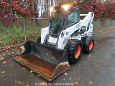 New Listing2012 Bobcat S850 Skid Steer Wheel Loader Heated Cab A/C Aux Hydraulics bidadoo