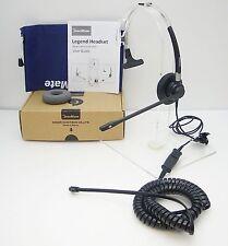 Dasan FM01 Headset for Avaya Toshiba Polycom Nortel Mitel NEC Aspire & Commander