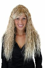 Perücke sehr lang Kinks kinky Locken Blondmix Blond 7066C-27T613