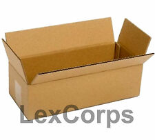 SHIPPING BOXES 25 Pack 14x6x4 Mailing Moving Box Cardboard Storage Mail Packing