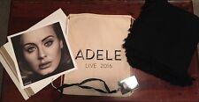 Adele 2016 Live Tour VIP Lanyard Poster Blanket and Drawstring Bag