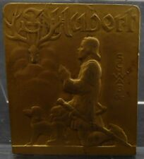 "Médaille Saint Hubert - Schwab - société canine bretonne Bretagne ""amavie"" medal"