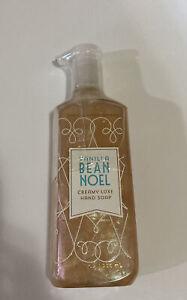Bath and Body Works VANILLA BEAN NOEL creamy luxe hand soap 8 fl oz New Sealed