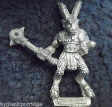 1987 Chaos Beastman 0205 14 CH4 Atzel Citadel Warhammer Beastmen Army Beasts GW