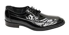 Lackleder Herren Schuhe Muga Gr.40 Schwarz