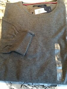 tommy hilfiger Mens Crew Neck Jumper BNWT SIZE Large 100 % Aunthentic