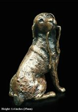 Labrador Solid Bronze Foundry Cast Detailed Sculpture Butler And Peach [2019]