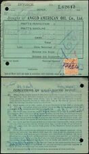 Gb kg5 1925 Perfin Anglo American Oil Co... Automotriz Motor espíritu Pratts