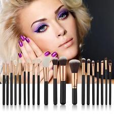 Pro Makeup 20pcs Brushes Set Eyeshadow Eyeliner Lip Blush Foundation Brush Tool