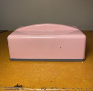 Vintage Retro Gayware Canister - CHEESE - Gay Ware Rare Pink And Grey