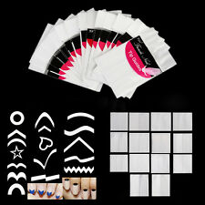 15Pcs/ Set Nail Art Transfer Stickers 3D Design Manicure Tips Decal Decoration
