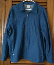 Allison Daley Blue Denim Cotton Jacket With Two pockets Size 12