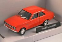 Ford Escort Mk1 - Red, MODEL CAR, 1:43, SCALE, CARARAMA,