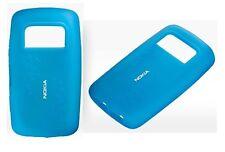 Nokia CC-1013BL Silicone Cover - To Suit Nokia C6 - Blue