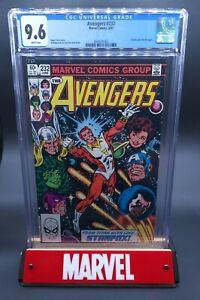 Avengers #232 CGC 9.6 Starfox Eros joins the Avengers (Marvel 1983) *White Pages
