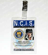 NCIS Leroy Abby Sciuto ID Badge Card Special Agent Cosplay Costume Comic Con