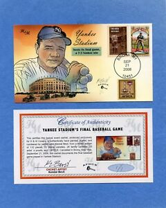 Yankee Stadium Bevil (H&M) HD & HP Cachet First Day Cover AFDCS Proof 1 / 1