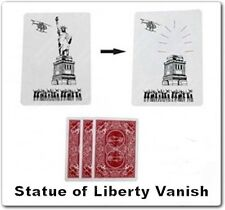 STATUE OF LIBERTY VANISH CARD MISSING LADY MAGIC TRICK DAVID COPPERFIELD GODDESS