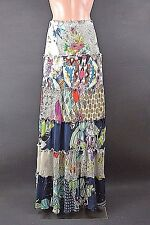 NWT Johnny Was Skirt S Multi Color Long Rayon Bohemian style boho chic Tiered