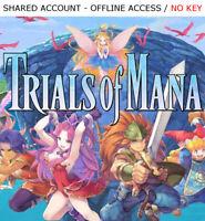 Trials of Mana +14 BONUS GAMES Steam OFFLINE - READ DESCRIPTION