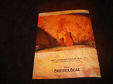 BROTHER BEAR Oscar ad bears in cave, Disney & FINDING NEMO with Dory, Marlin
