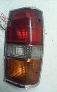 Driver Left Tail Light Chrome Bezel Fits 87-96 MITSUBISHI PICKUP 102798