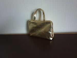 """Make-Up Bags""""Morgan""""and """"Marks&Spencer""""Purse 4 pieces  Colour Gold Mix"""
