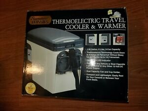 Signature Classics Thermoelectric Travel Cooler and Wamer