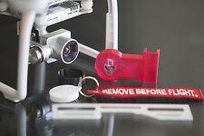 DJI Phantom 3 Deluxe Flight Kit RED - Cap - Hood - Gimbal Lock & Guard + kc