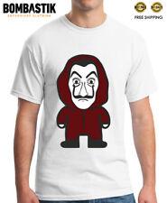 R0533 BELLA CIAO T-shirt Tee for La Casa de Papel fans El Profesor Dali Mask Top