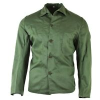 Original Swedish army green tactical combat shirt military surplus issue NEW