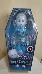 Mezco Living Dead Dolls RESURRECTION frozen charlotte