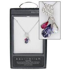 White Gold Diamond (Imitation) Costume Necklaces & Pendants