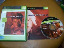 DEAD OR ALIVE 3 - VF - XBOX - BOITE CD LIVRET