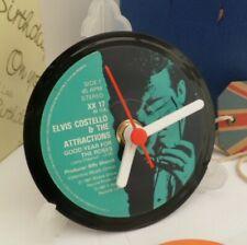 *new* ELVIS COSTELLO Vinyl Record CLOCK An Actual Vinyl Record
