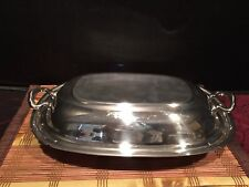 Reed & Barton Silver Covered Casserole Dish or Vegetable Bowl Mayflower 5001 A
