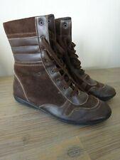 Bottines Beo Original brunes avec lacets 38 en bon état