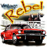 Ford '65 Mustang Vintage Rebel Classic Car T-shirt Small to XXXXXL 100% Cotton