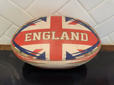 vintage England National Rugby Union ball - signature Ryan