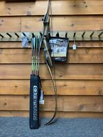 "Bear Archery Wolverine take down 62"" Recurve Bow Right Hand 50LB  DELUXE PACKAGE"