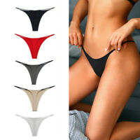 Women Sexy Panties Low-waist Underwear Thongs G String Seamless Breathable S-XL