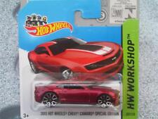 Hot Wheels 2014 #202/250 2013 chevy camaro special edition Red
