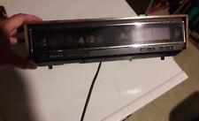 Vintage Sony TFM-C770W Digimatic Litetime Flip Clock Alarm AM/FM Radio  FS